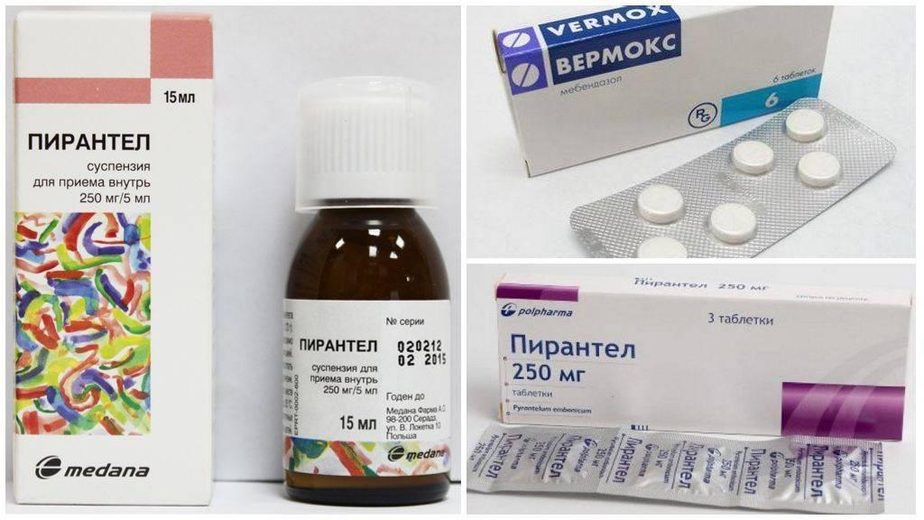 Лекарство от глистов для детей – самые действенные препараты
