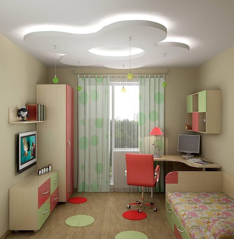 Дизайн детской комнаты 16-20 кв м для мальчика или девочки: планировка, интерьер, мебель с фото