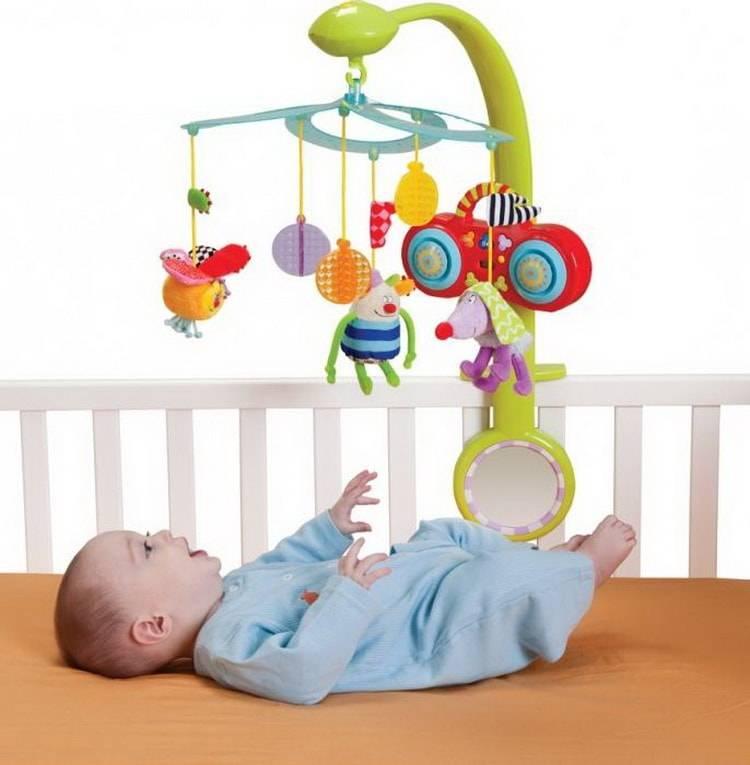 Выбираем мобиль на кроватку для новорождённого