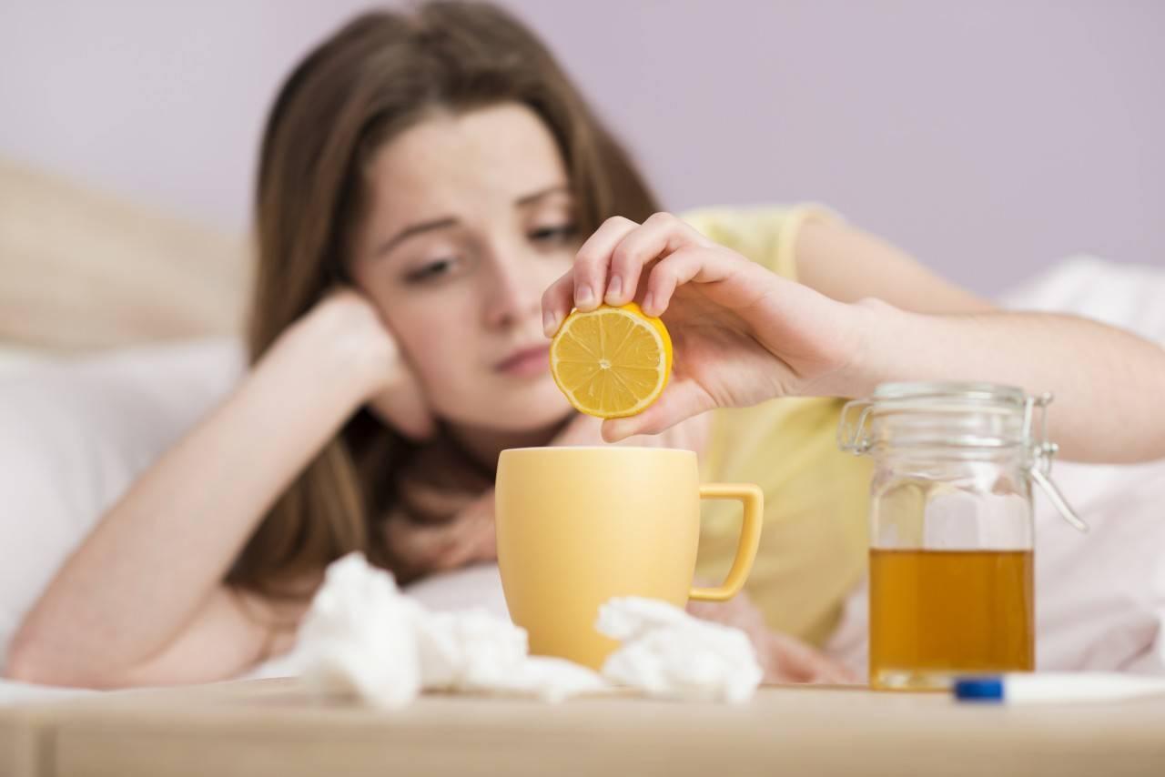Лечение ребенка при первых признаках простуды