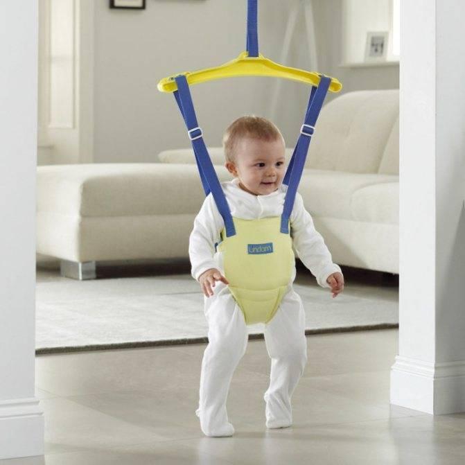 Прыгунки для детей от 6 месяцев, с раннего возраста: за и против (комаровский) | физическое развитие | vpolozhenii.com