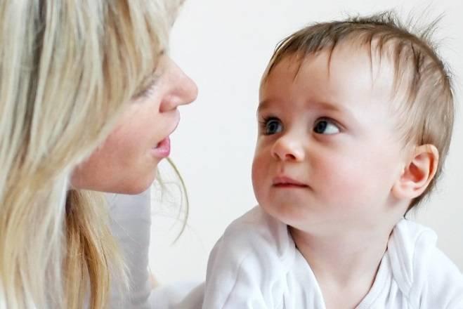 Когда ребенок начинает говорить | уроки для мам