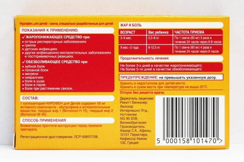 Ибупрофен - инструкция по применению взрослым и детям