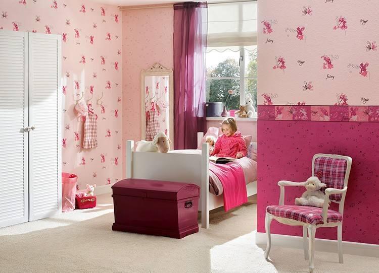 Обои для детской комнаты: фото и выбор лучших вариантов (виниловые, фотообои и другие)