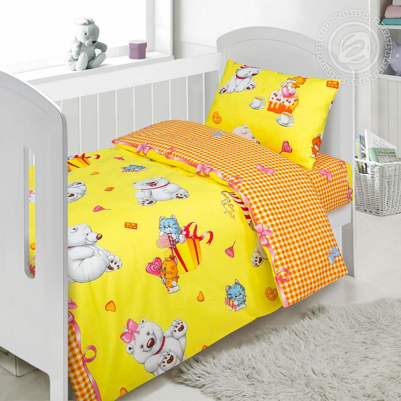 Выбираем белье правильно: стандартные размеры детского постельного белья в кроватку
