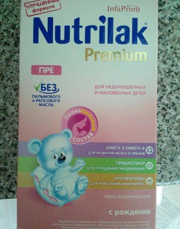 Выбор смеси для недоношенных и маловесных детей. топ специального молочного питания