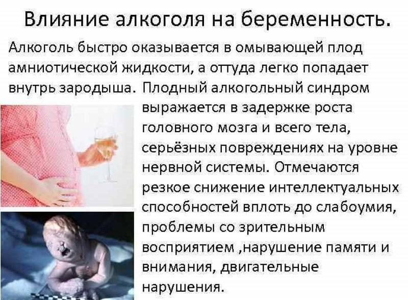 Как алкоголь влияет на зачатие у мужчин и женщин и сколько нужно не пить спиртное перед зачатием?