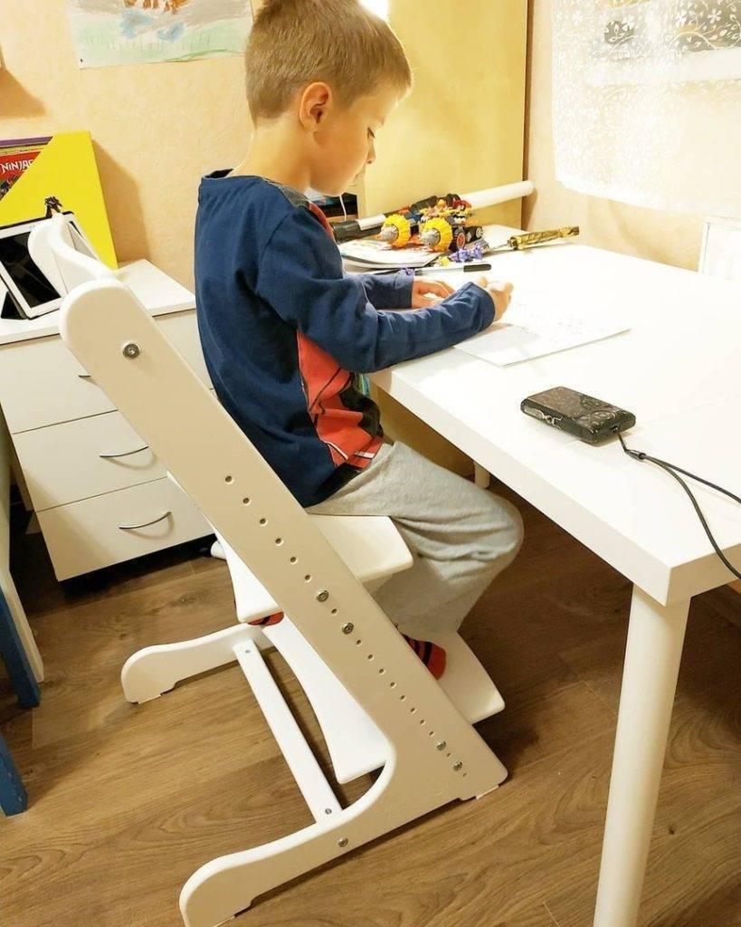 Стул для школьника, регулируемый по высоте: детский ортопедический стул-трансформер