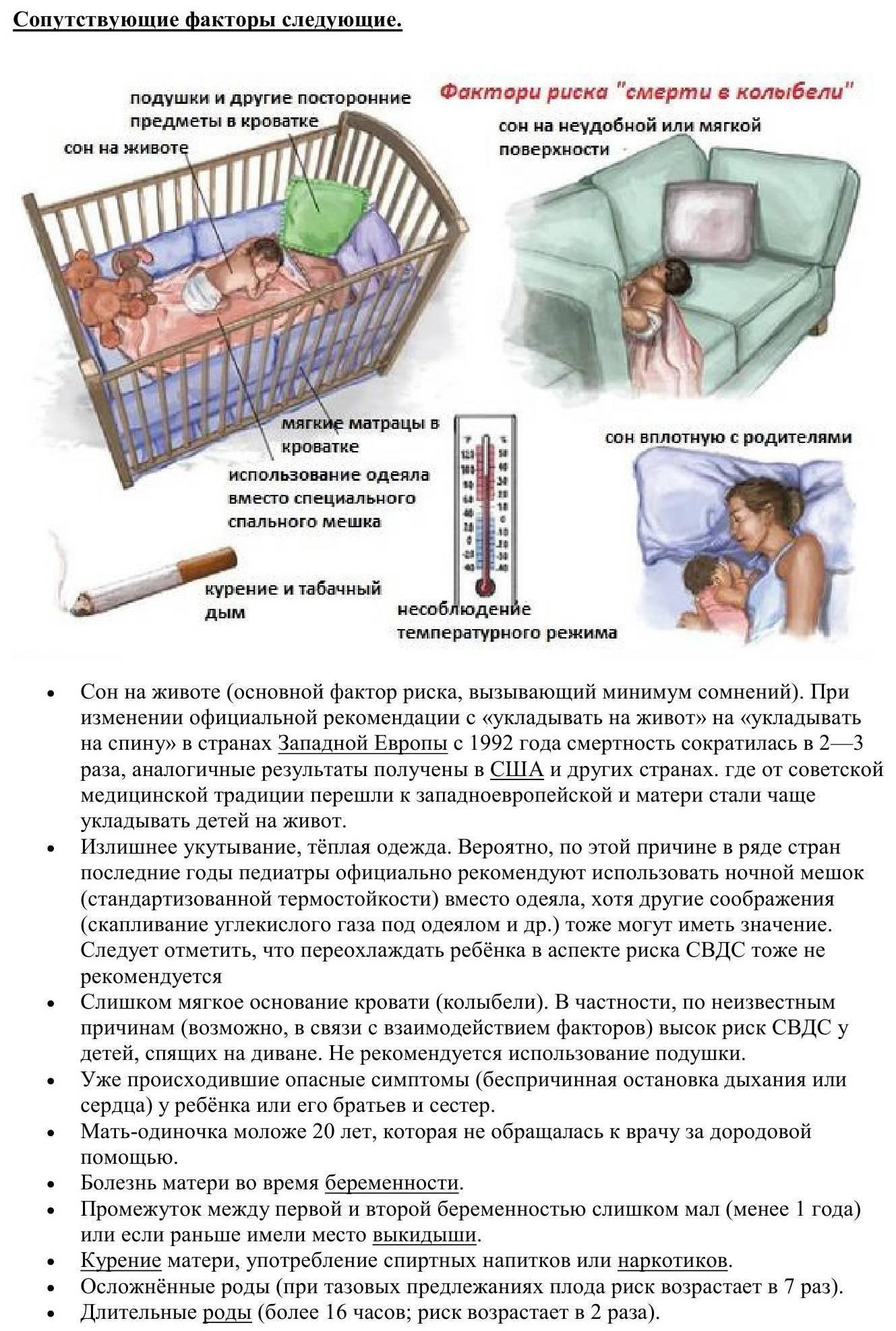 Синдром внезапной детской смерти: причины, до какого возраста | prof-medstail.ru