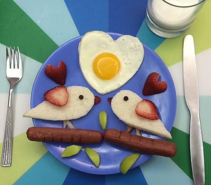 Завтраки для детей: быстрые, питательные, полезные, подборка смешных завтраков.