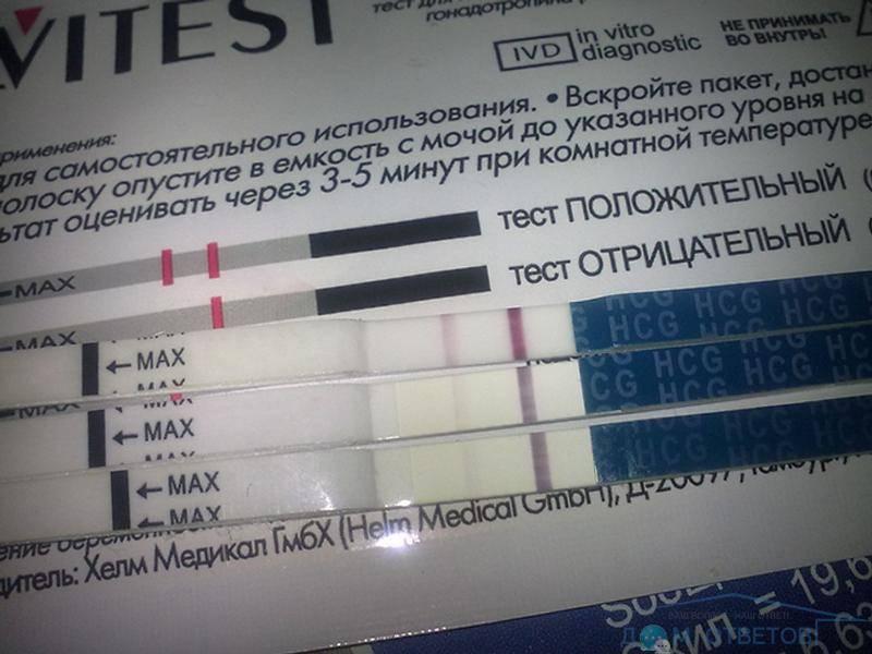 Причины восьмидневной задержки и отрицательного теста