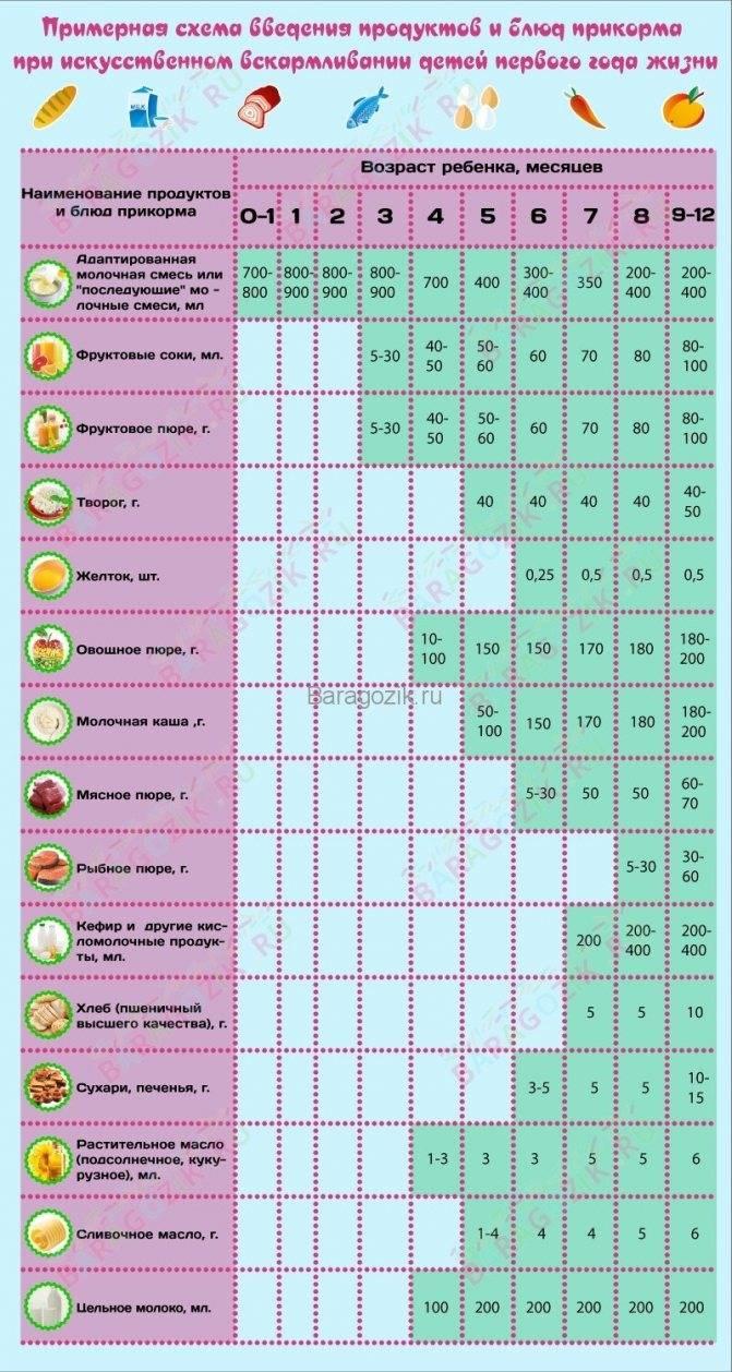 Современные принципы прикорма детей