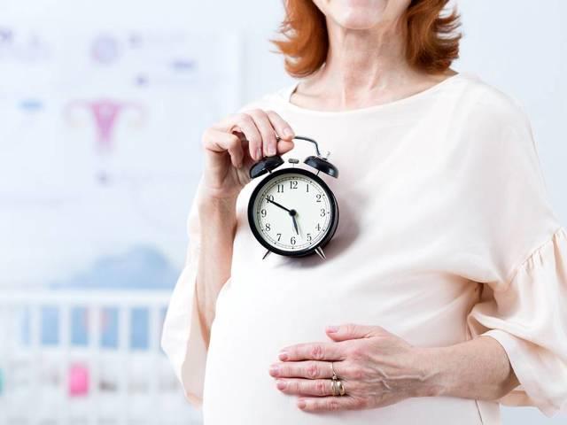 Причины поздней беременности