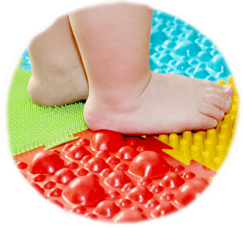 Ортопедический массажный коврик от плоскостопия для детей