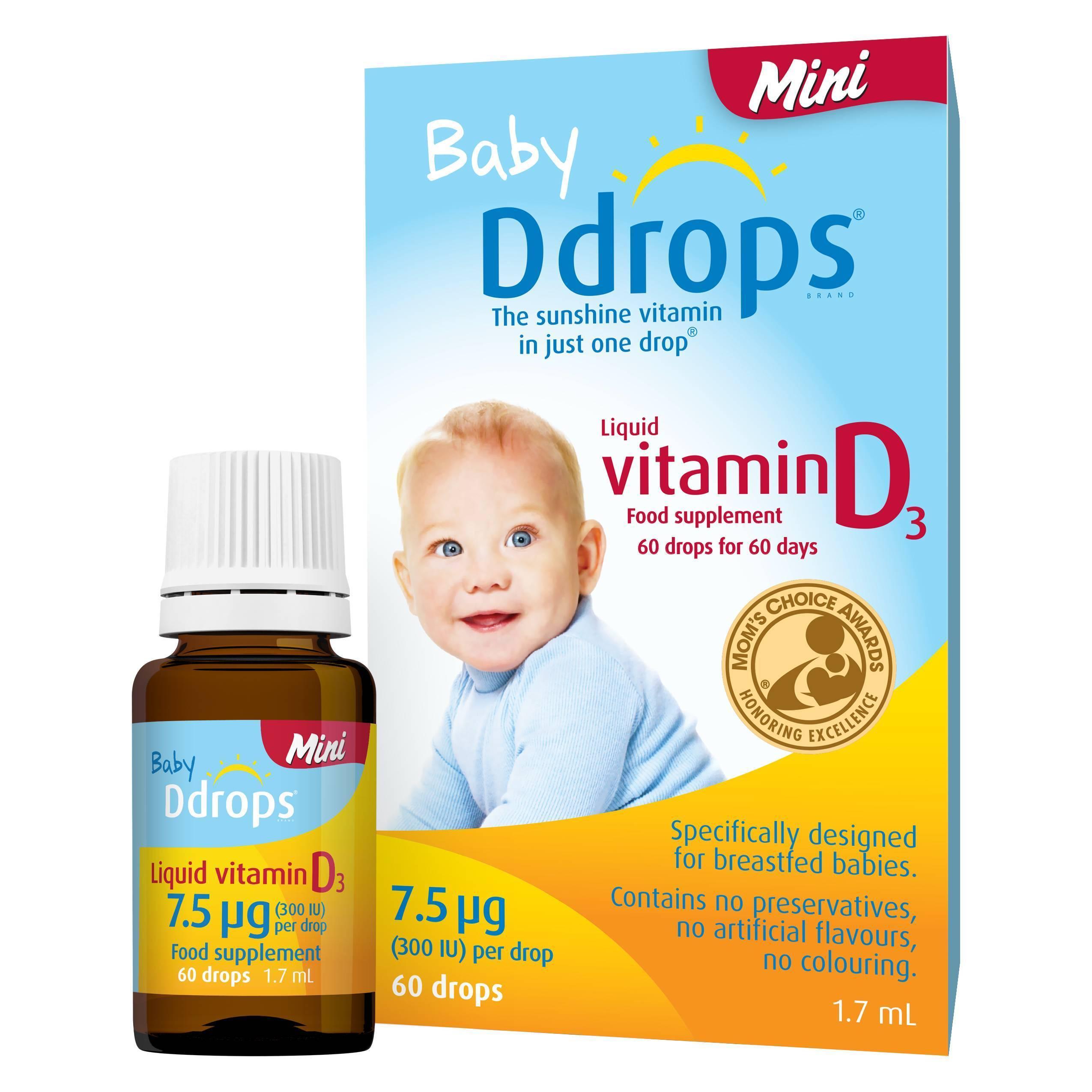 Как давать витамин д новорожденному