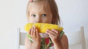 С какого возраста ребенку можно кукурузу | уроки для мам