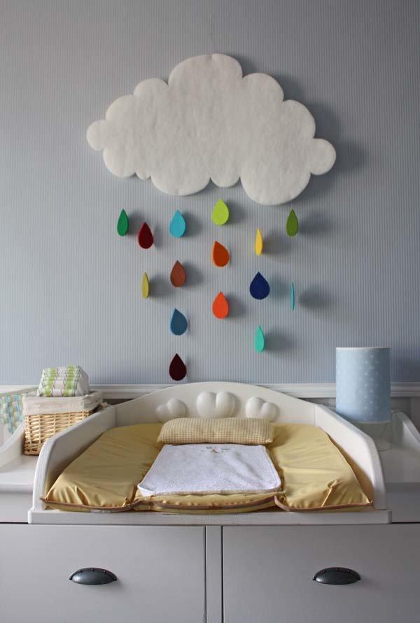 Декор детской комнаты - оформляем стены и интерьер своими руками