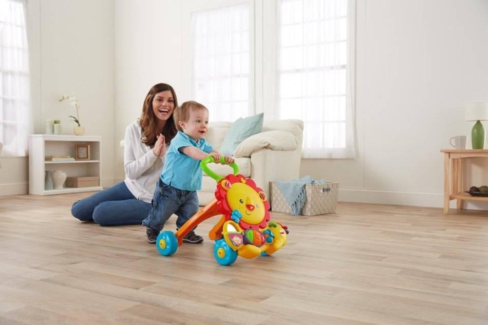 Как научить ребенка ходить самостоятельно без поддержки (Комаровский)