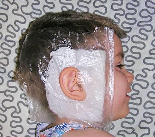 Алгоритм наложения согревающего компресса на ухо ребенку: постановка и техника спиртового компресса - как сделать правильно