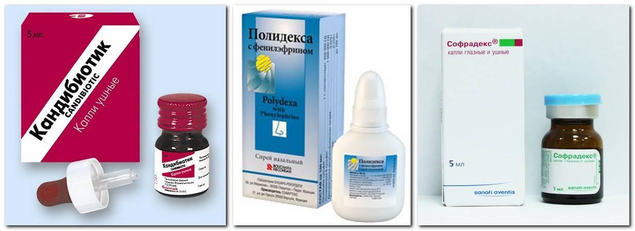 Капли для ушей: список лучших лекарств для лечения, цены и виды препаратов
