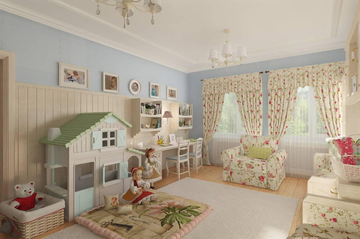 Детская комната в стиле прованс, как образец французского шарма | ivybush