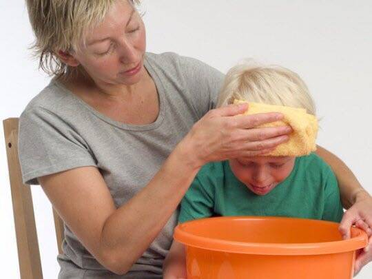 Что делать при появлении рвоты у ребенка