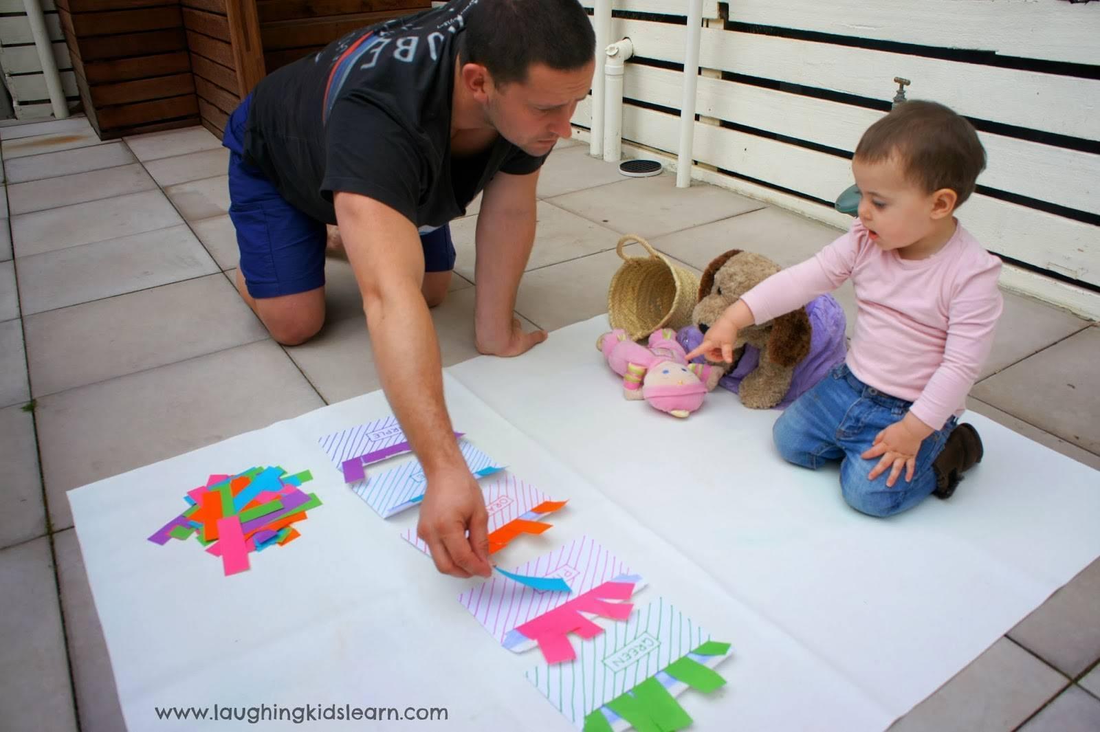 Учим с ребенком цвета на домашних занятиях