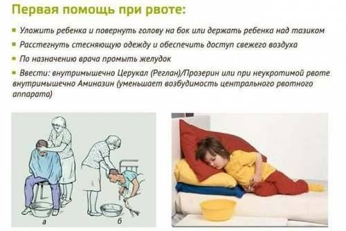Ребенка рвет желчью без температуры и поноса что делать