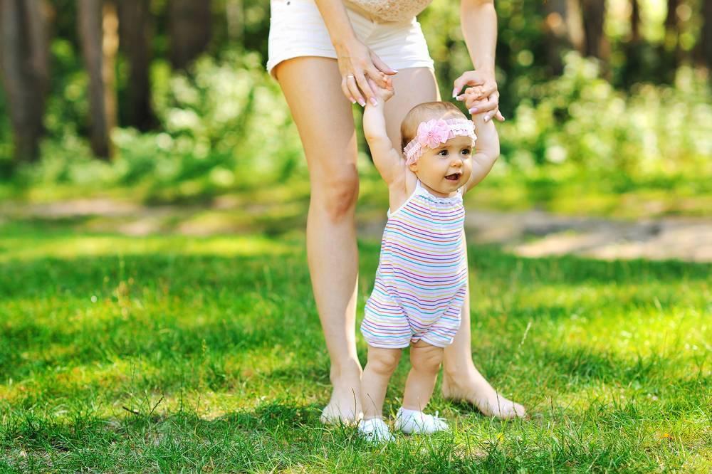 Ребенок боится ходить самостоятельно | уроки для мам
