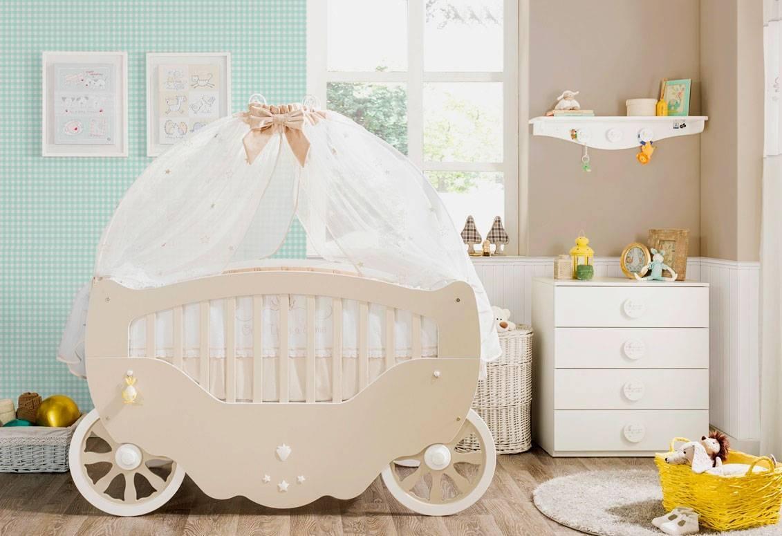 Приставная кроватка для новорожденных: виды и правила выбора | знать про все