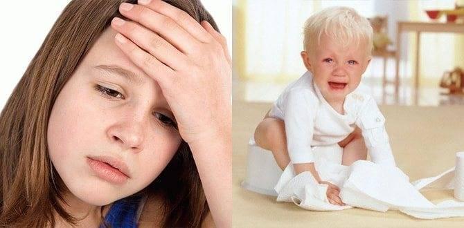 Рвота с желчью у ребёнка— повод немедленно обратиться к педиатру