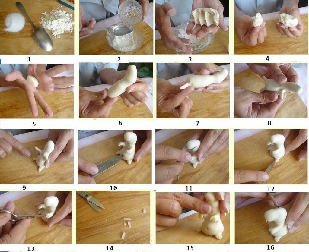 Поделки из соленого теста своими руками: 90 фото, этапы изготовления и секреты для начинающих