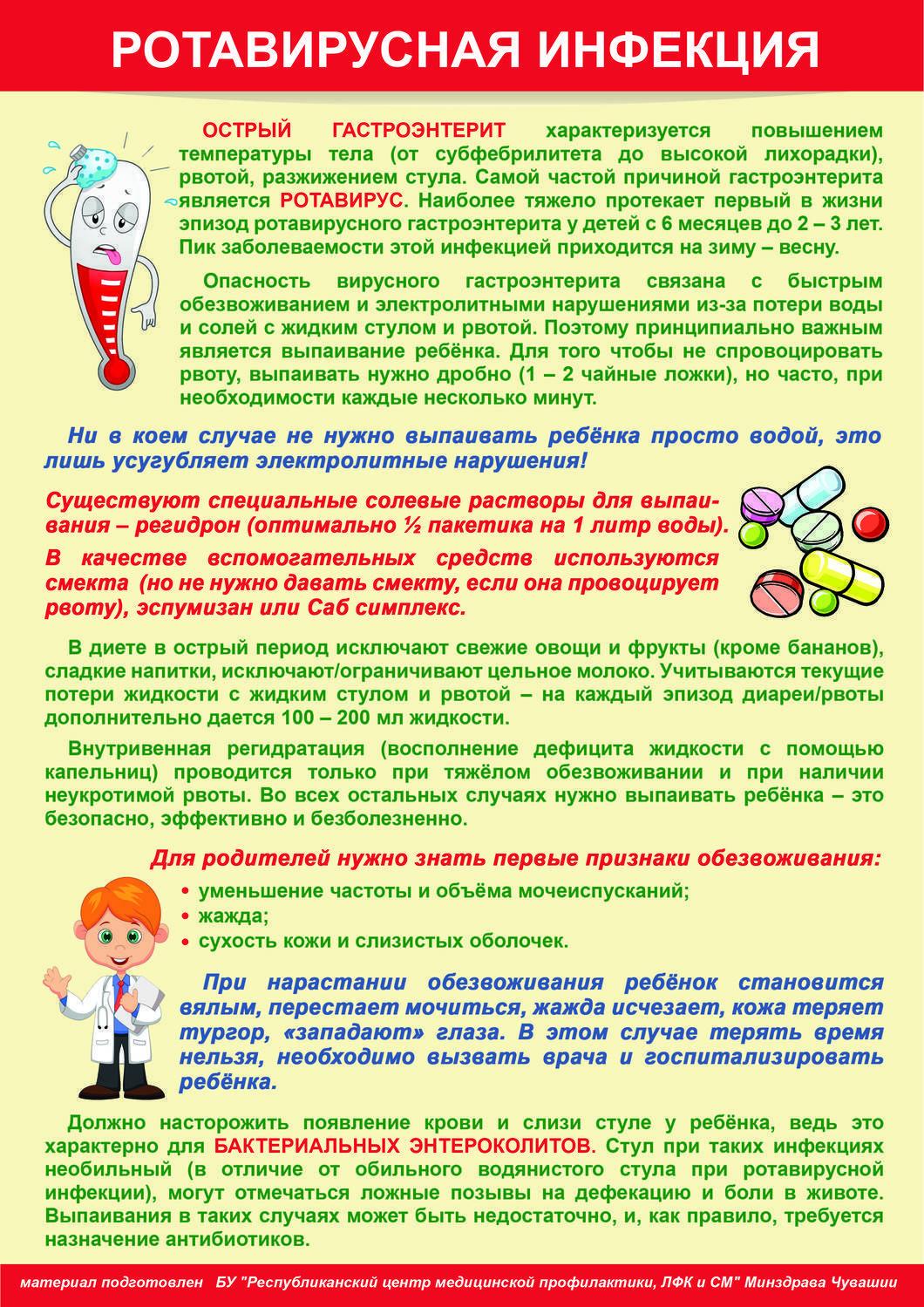 Гастроэнтерит и гастроэнтероколит в острой и хронической формах
