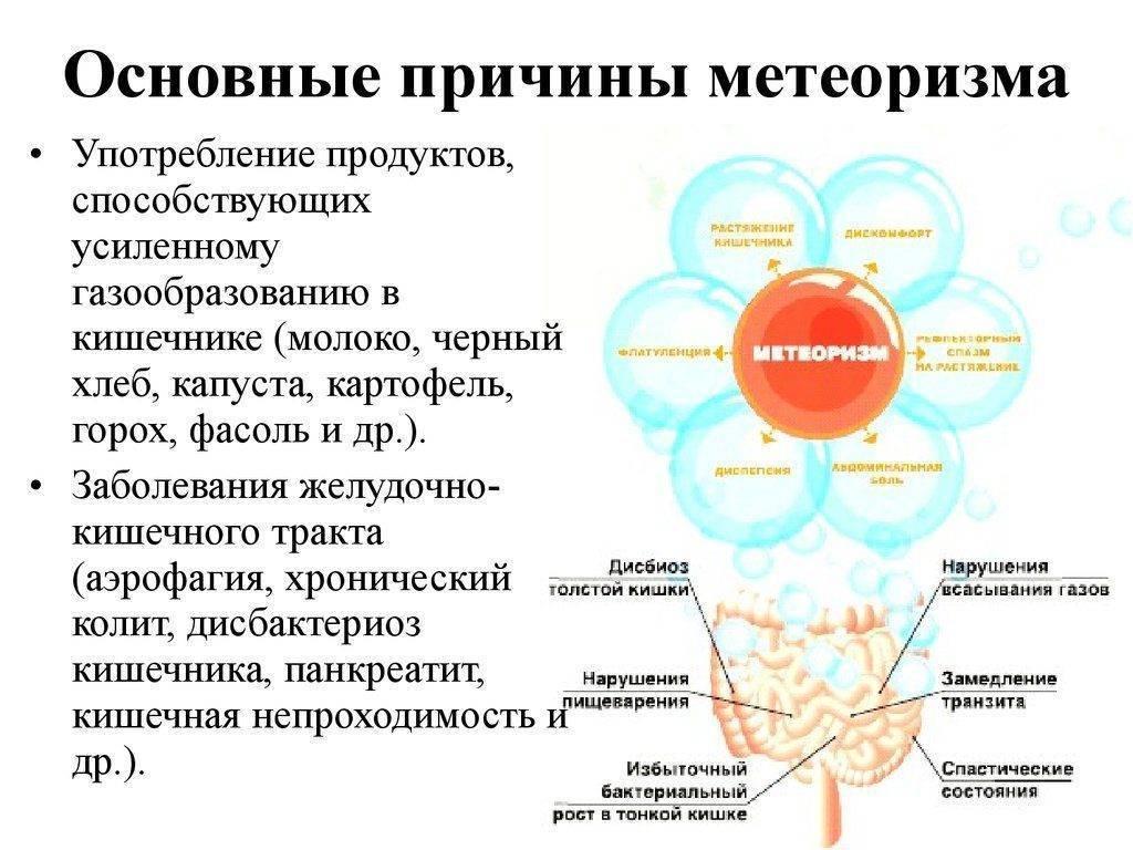Вздутие живота (повышенное газообразование). причины, диагностика и лечение патологии. :: polismed.com