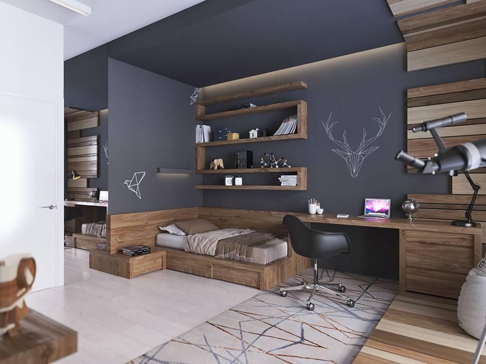 Особенности интерьера детской комнаты в стиле лофт для подростков и детей, простые решения с волшебной атмосферой