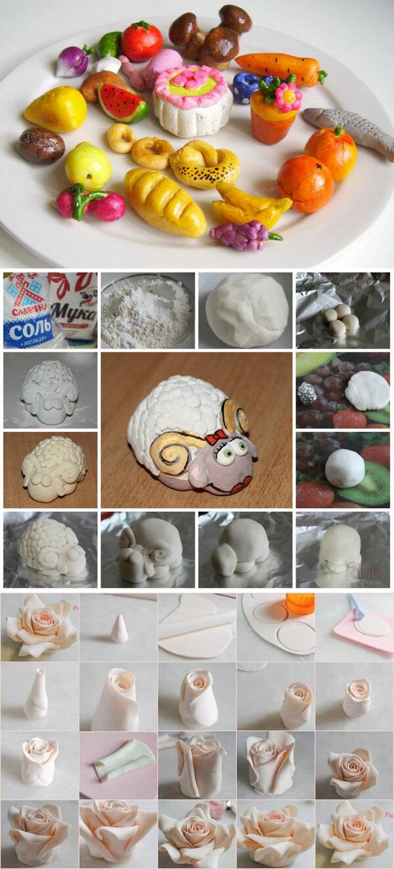 Соленое тесто для лепки: лучшие рецепты и пошаговая инструкция по приготовлению (100 фото)