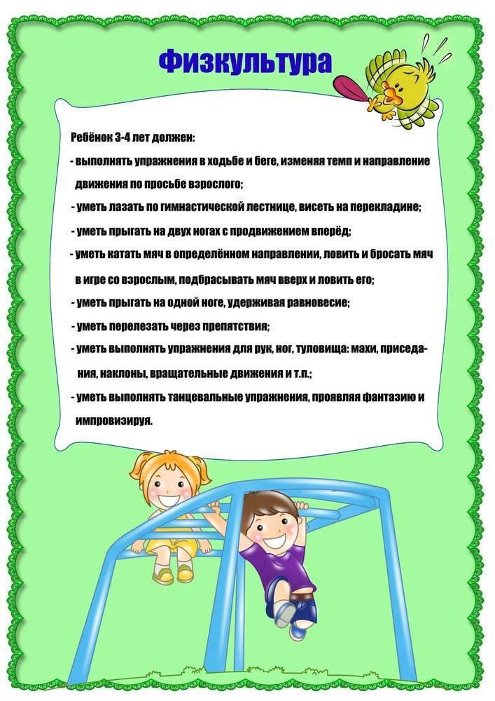Что должен уметь ребенок в 4 года: мальчик и девочка