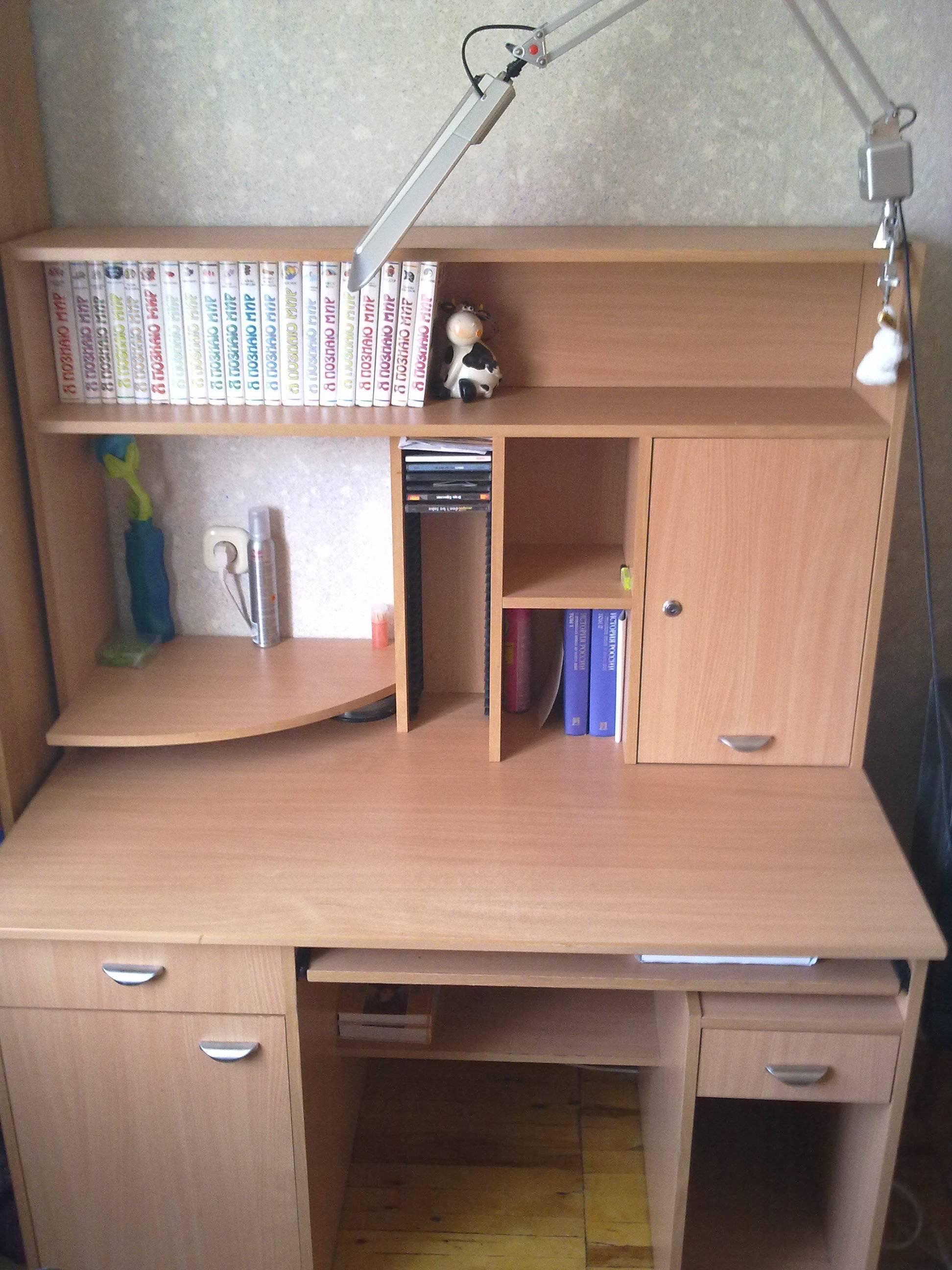 Стол для первоклассника для дома: высота, ширина и стандартные размеры парты