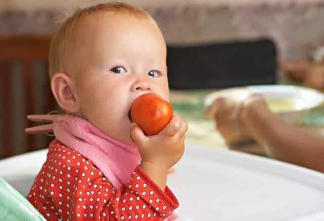 Когда можно давать ребенку помидор - журнал о всём