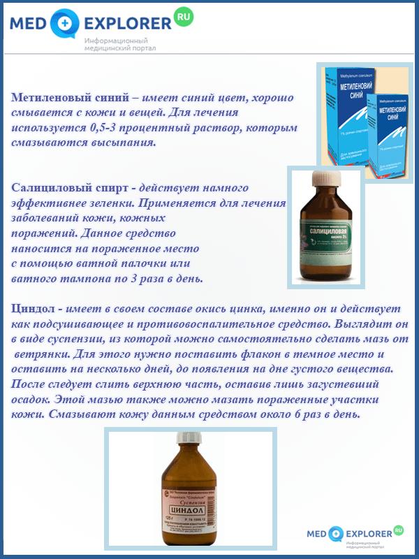 Самые эффективные препараты для лечения ветрянки, которые назначают врачи