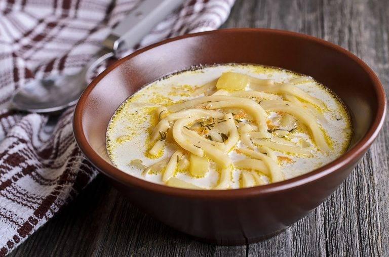 Молочный суп (36 рецептов с фото) - рецепты с фотографиями на поварёнок.ру