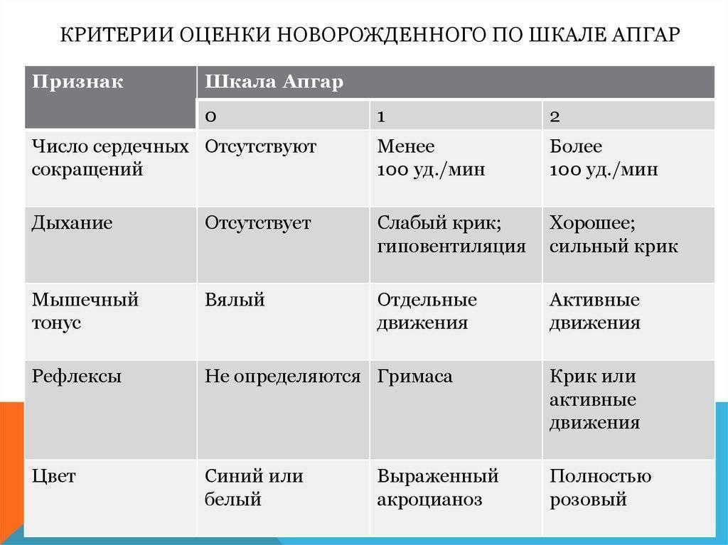Первый экзамен: оценка по шкале апгар. хорошая оценка состояния новорожденного по шкале апгар