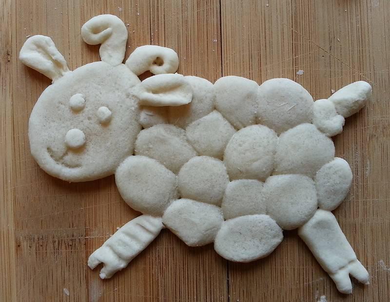 Как сделать соленое тесто для лепки: рецепты с фото, видео