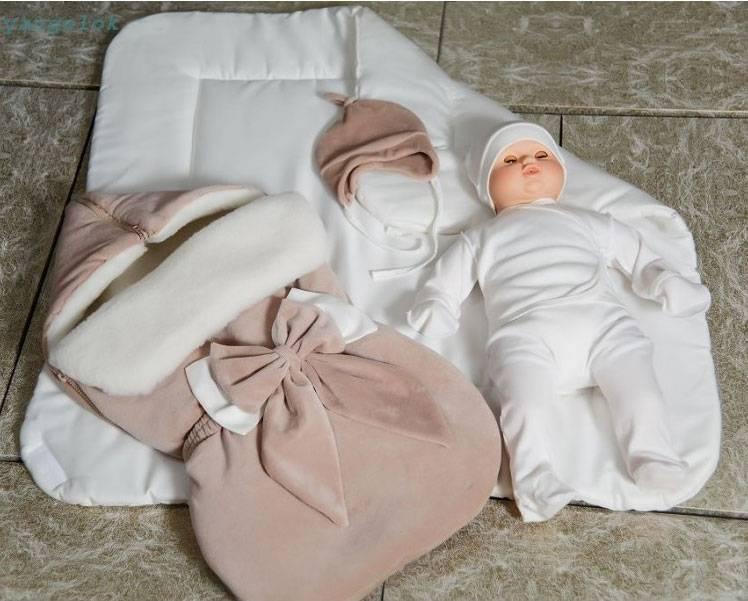 Комплект для выписки новорожденного зимой, весной, летом и осенью