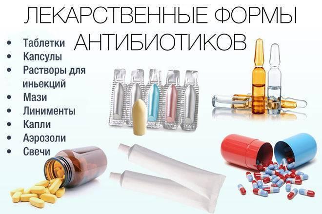 Антибиотики от бронхита у взрослых