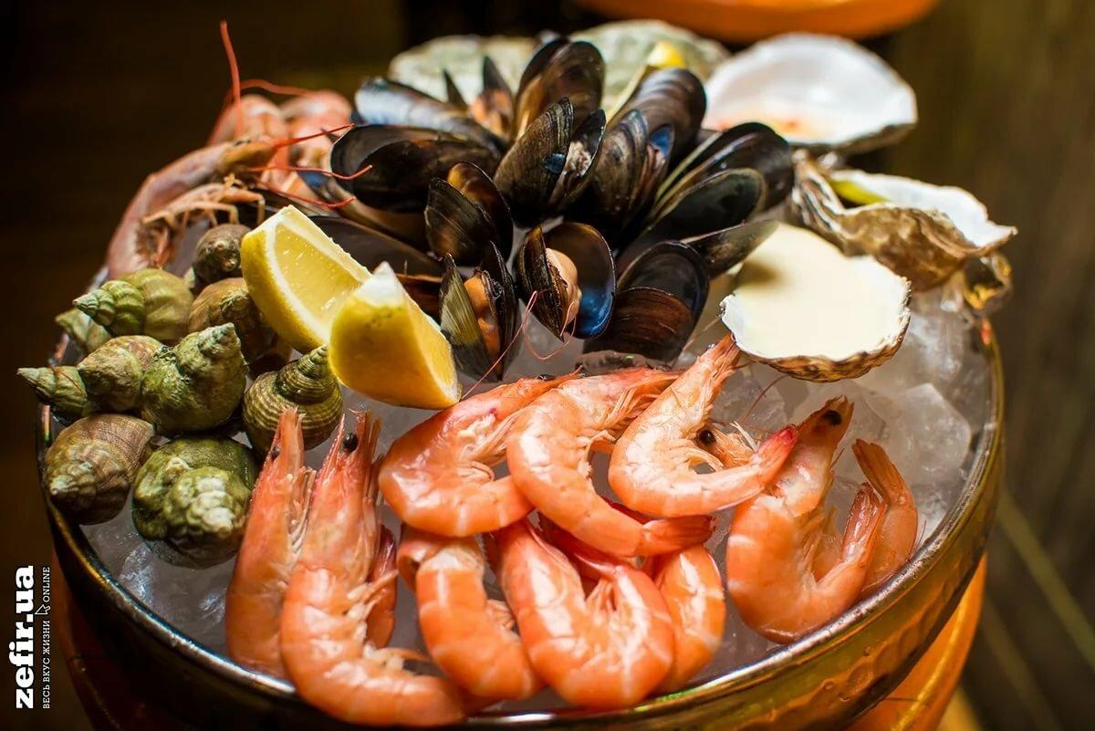 Морепродукты для кормящих