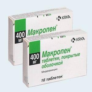 Таблетки макропен и суспензия для детей: инструкция по применению. макропен – инструкция по применению, дозировка для детей и взрослых, противопоказания и отзывы макропен показания к применению инструкция