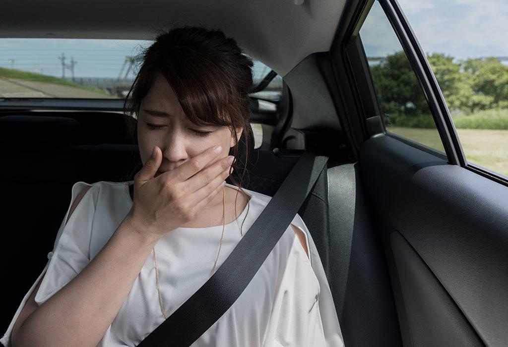 Что делать если укачало в машине и тошнит ребенка