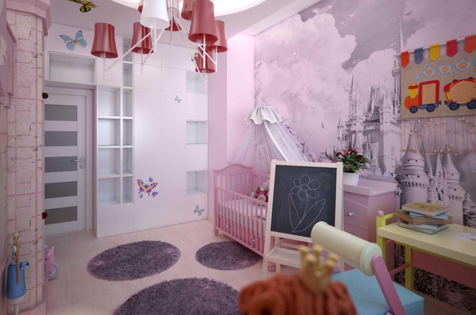 Как выбрать обои в детскую комнату для девочек?
