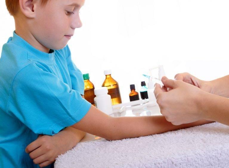 Может ли быть температура после манту и что делать, если ребенок заболел от прививки?